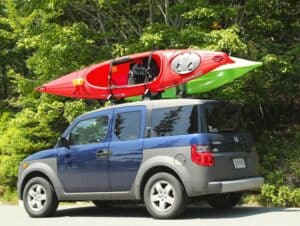 how to transport kayaks by vehicle type